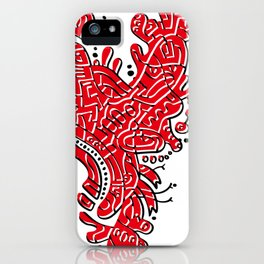 Cell Heart iPhone Case