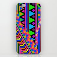 neon iPhone & iPod Skins featuring NEON by Bianca Green