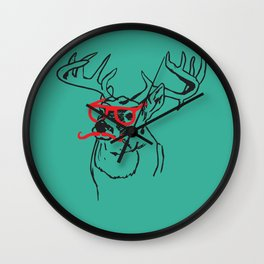 Going Stag Wall Clock