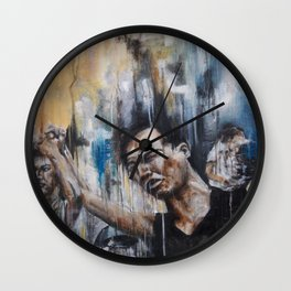 We are one people and will act as one. Wall Clock