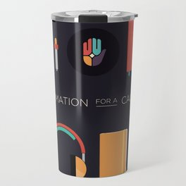 Animation for a Cause poster Travel Mug
