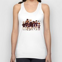 haikyuu Tank Tops featuring FLY by rhymewithrachel