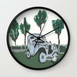 The old car Wall Clock