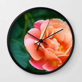 Pinky Peace Flower Wall Clock