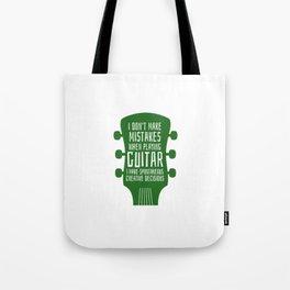 Accoustic Guitar Guitarist Bass Acoustic Tote Bag