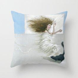 El Rompecabezas Throw Pillow
