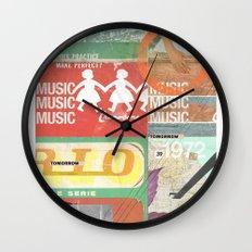 Music, Music, Music Wall Clock