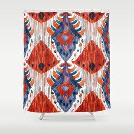 Balinese Pattern 04 Shower Curtain