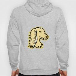 Saluki or Persian Greyhound Mascot Hoody