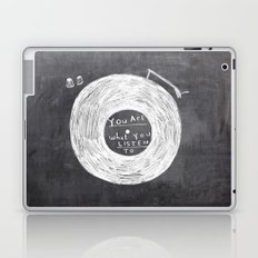 you are what you listen to Laptop & iPad Skin