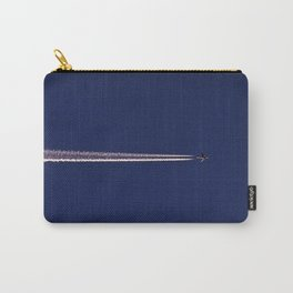 Jet and Contrail Carry-All Pouch