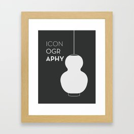 ICONOGRAPHY - Pirate Black Framed Art Print