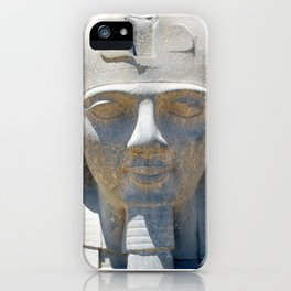 Head of Ramesses II, Luxor temple, Egypt iPhone Case