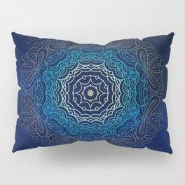 Cosmic Mandala Pillow Sham