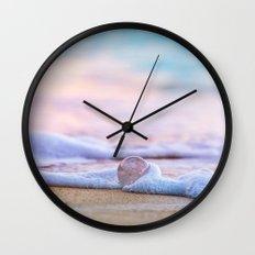 Beach Ball - Hawaiian Sunset Beach Wall Clock