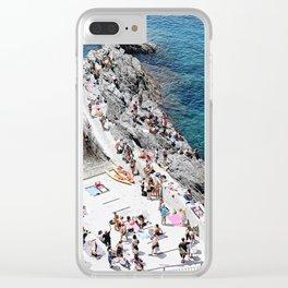 Manarola, Italy Clear iPhone Case