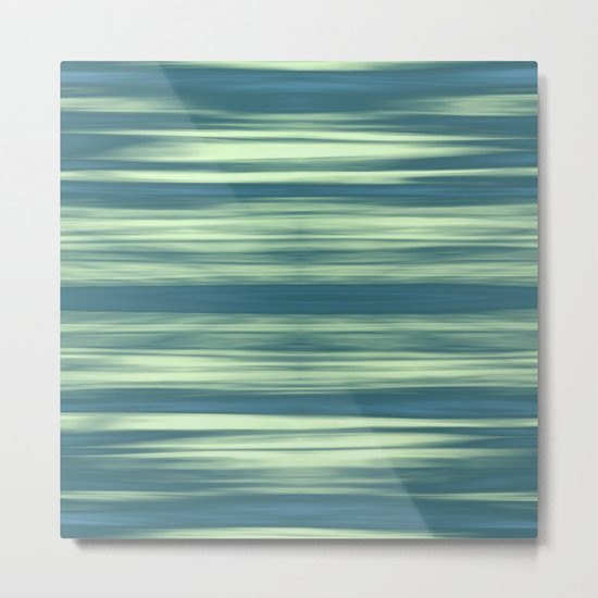 Abstraction Serenity in Afternoon at Sea Metal Print