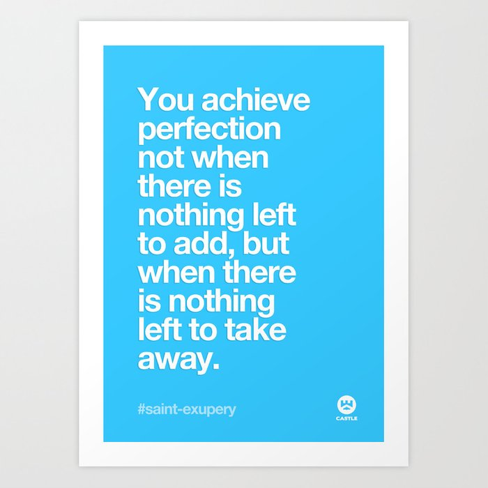 design quotes art print by madebycastle society