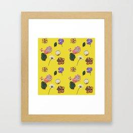Yellowness Framed Art Print