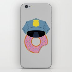 Officer Donut iPhone & iPod Skin