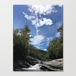 Graveyard Fields Mid-afternoon Canvas Print