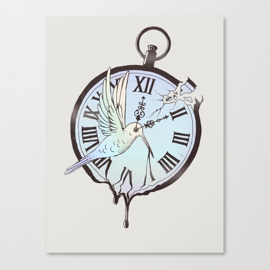 Why Waste Time (If We're Not Long for This World)? Canvas Print