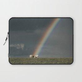 Rainbow II  - Landscape and Nature Photography Laptop Sleeve