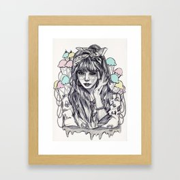 hyuna Framed Art Print