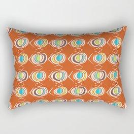 Retro Sixties Rectangular Pillow