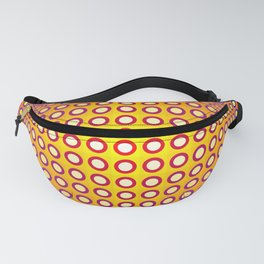 Vasarely style Fanny Pack