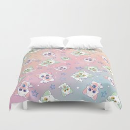 Starry Cats Duvet Cover