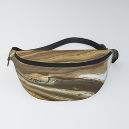 Swashes of gold and fire Fanny Pack