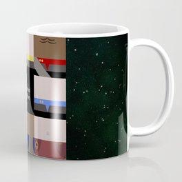 DS9 - Far Beyond the Stars - square - Minimalist Star Trek DS9 Deep Space Nine - Crew Coffee Mug