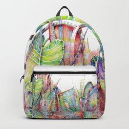 Vegetal color chaos Backpack