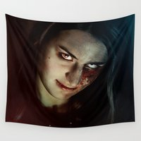 witch Wall Tapestries featuring Witch by Freemindtime Art