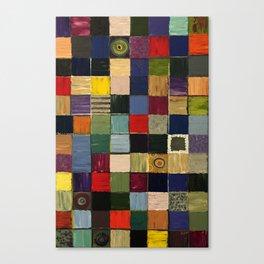 Line of Descent Canvas Print