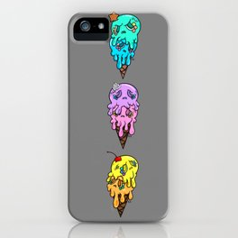 Trio of double scoop | Series 2 iPhone Case