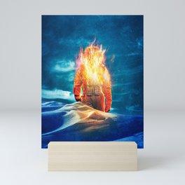 Burning Out Mini Art Print