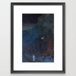 A Walk in Tulgey Wood Framed Art Print