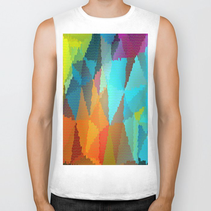 Stained Glass  Biker Tank