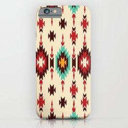 American Native Pattern No. 110 iPhone Case