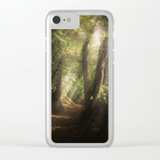 Lost In the Light Clear iPhone Case