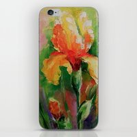 iris iPhone & iPod Skins featuring Iris by OLHADARCHUK