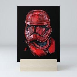 Sith trooper Mini Art Print