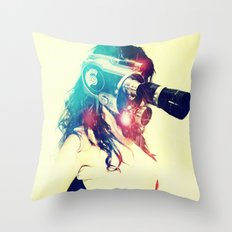 SEX ON TV - ZOOMA by ZZGLAM Throw Pillow