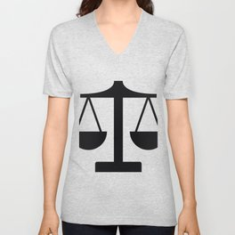 weight scale Unisex V-Neck