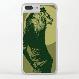 leone pistacchio Clear iPhone Case
