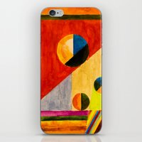 kandinsky iPhone & iPod Skins featuring BALANCE by THE USUAL DESIGNERS