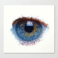 iris Canvas Prints featuring Iris by Paul Kimble