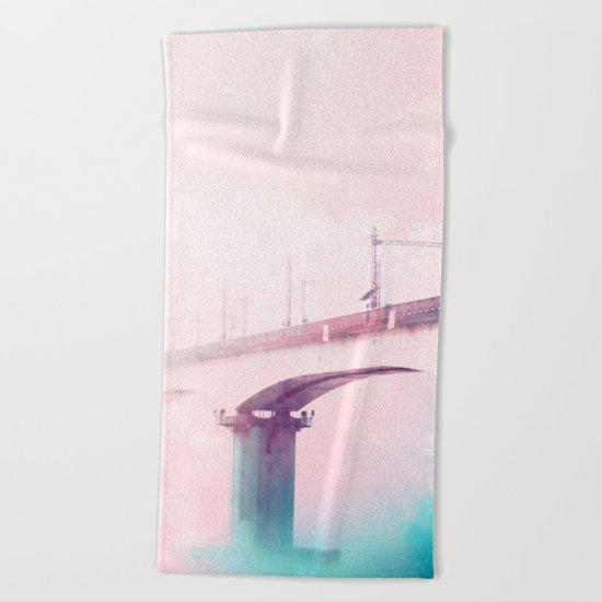 The Bridge to Heaven #society #decor #buyart Beach Towel